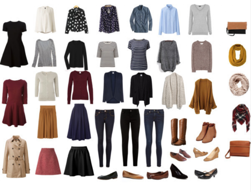 The Capsule Wardrobe Challenge: 37 Items or Less ~ Ruby Moon