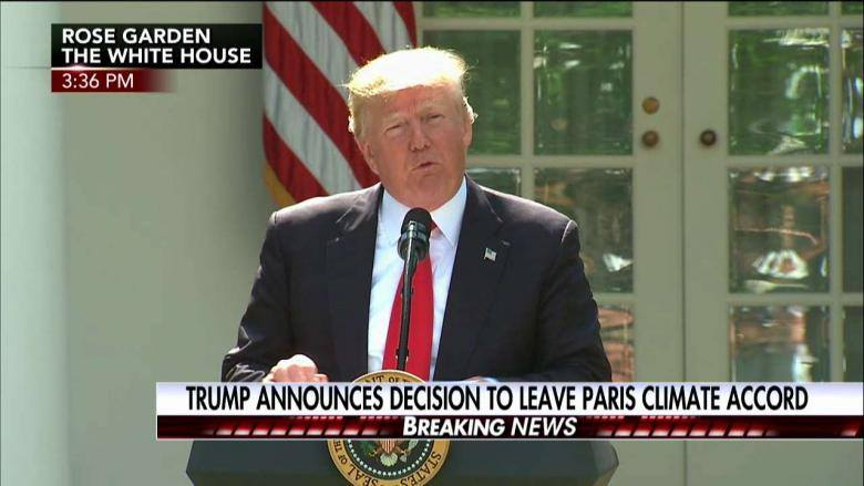 "Trump's withdrawal from the Paris Climate Agreement is no ""hoax ..."