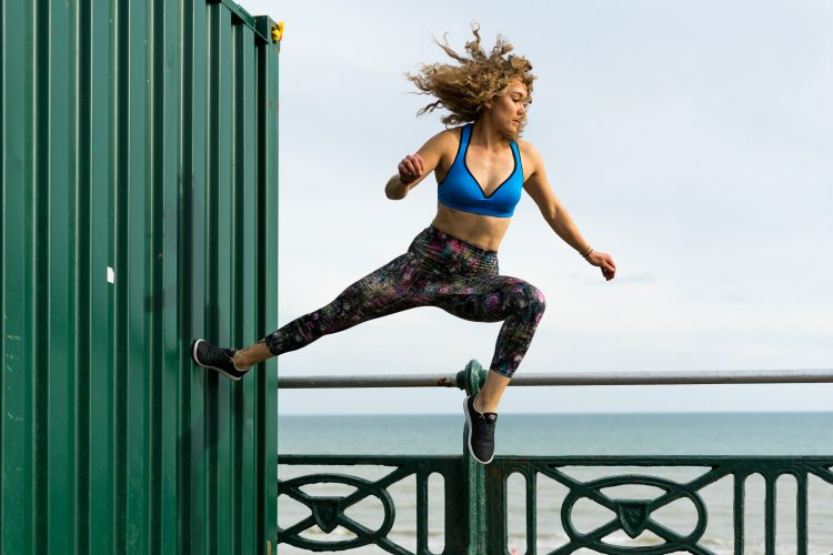 Parkour leggings multicoloured size M